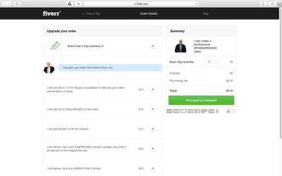Keress pénzt az interneten a Fiverr.com