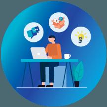 blogírás