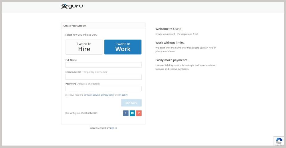 guru regisztrálj