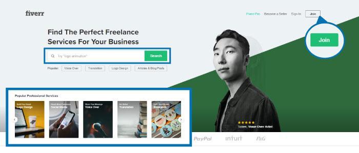 Módszert pénzkereséshez - Keress pénzt a Fiverr.com-n