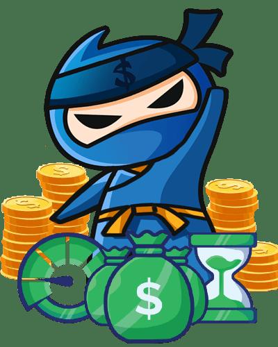 ninja a metrikák ikonnal