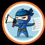 ninja gazdaság megafon