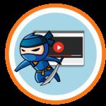 youtube ninja kardot tartó