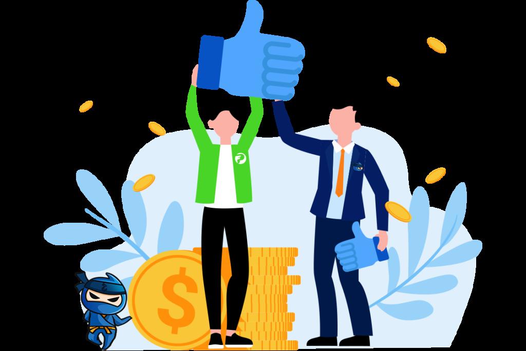 A Penznindzsas által jóváhagyott ProfitFarmers példánykereskedelmi platform biztonságos